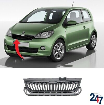 FOR SKODA FABIA 07-10 ROOMSTER 06-10 FRONT BUMPER LOWER COVER PAIR SET