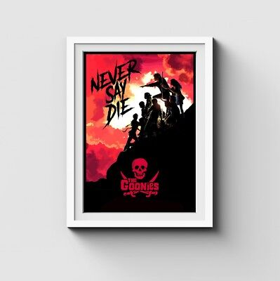 🅰3 The Goonies - Never Say Die Limited Edition Movie Print - Film Poster