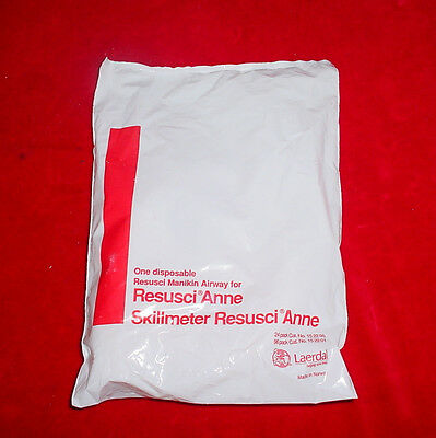 Laerdal Resusci Anne Skillmeter Manikin Disposable Resusci Airway Lot Of 32