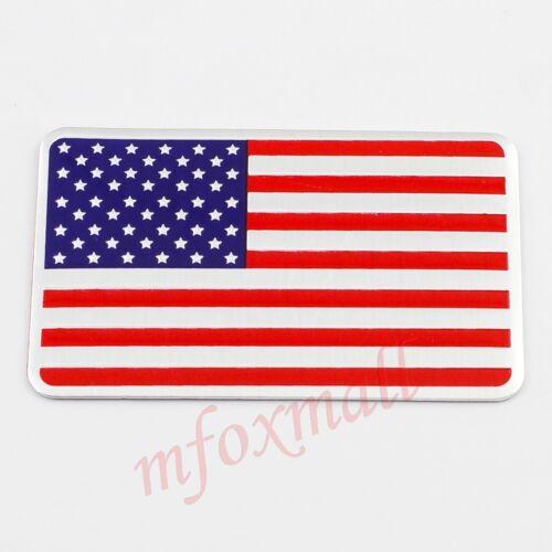Auto Car Accessories Garnish 3D Badge Emblem Symbol Sticker Decal USA US Flag