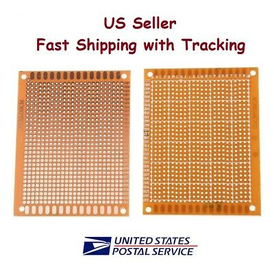 5 Pcs 7x9 Cm Prototype Perf Pcb Single Sided Matrics - Us Seller Fast Shipping