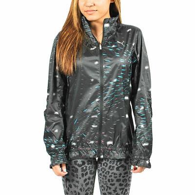 Women's PUMA - Lightweight Jacket Black-Printed size L $85