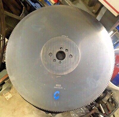 Hss 350x3x32 Cold Saw Metal Cutting Circular Saw Blade 32mm Arbor 200t