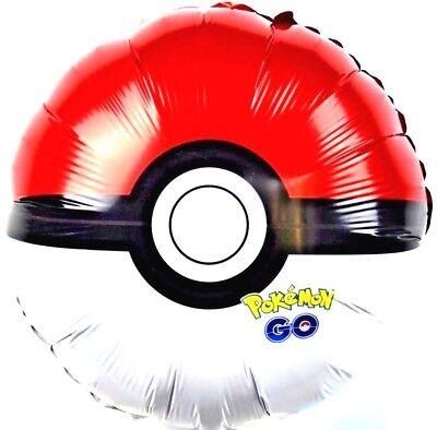 R17F14 Go Pokemon Ball Kinder Geburtstag Helium Folienballon Kinderspiel balloon ()