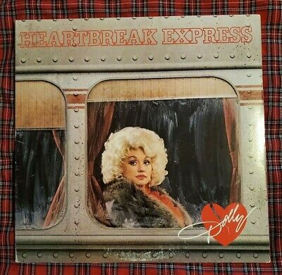 Heartbreak Express LP by Dolly Parton vinyl 1982 NM/EX AHLI-4289 RCA