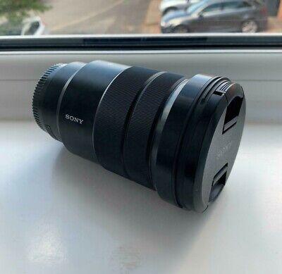 Sony E PZ 18-105 mm f/4 G OSS Standard Zoom Lens for Sony - Black