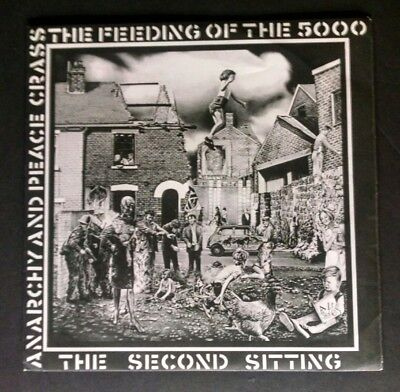 CRASS Feeding Of The 5000 The 2nd Sitting & Poster Sleeve - The Feeding Of The 5000