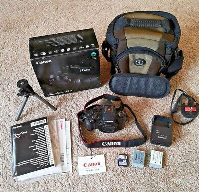 Canon Powershot G5X High Quality Camera with many accessories. V little use.