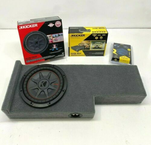 """Fits 2005 To 2020 Nissan Frontier Crewcab Box Subwoofer Sub Enclosure 10"""""""