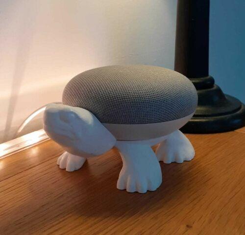 Tortoise / Turtle Holder for Google Home Mini / Nest - Stand Mount
