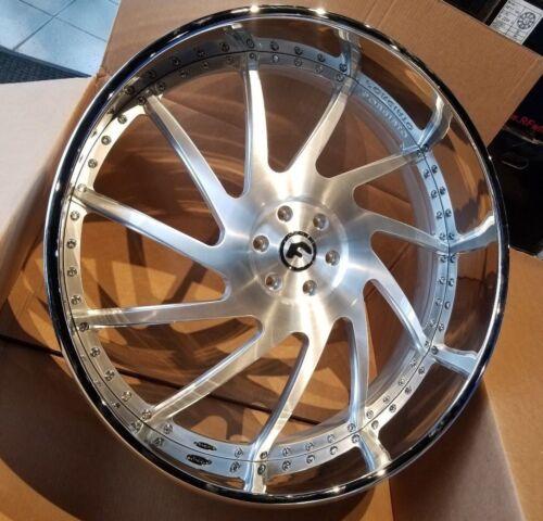 """30"""" Forgiato Direzione 3-piece Wheels 6x135  New Lincoln Navigator Ford F-150"""
