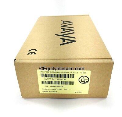 Avaya Ip Office 500v2 Tcm8 Base Card 700500758 New-unused Wwarranty