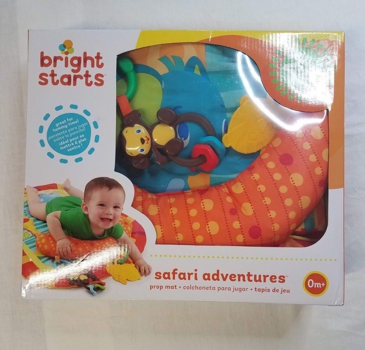 Bright Starts, Infants, 0m+, Safari Adventures Play mat, Ora
