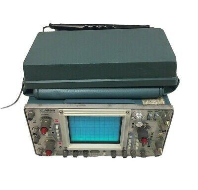 Tektronix 465b Oscilloscope Bright Trace Comes With Cover 9033