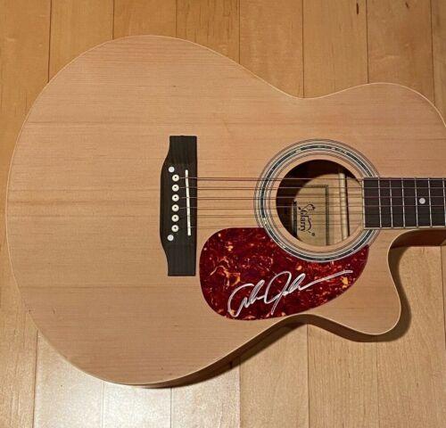 * ALAN JACKSON * signed acoustic guitar * REMEMBER WHEN * COA * 1