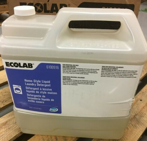 Ecolab 6100916 Home-Style LIQUID LAUNDRY DETERGENT 2.5 Gallons
