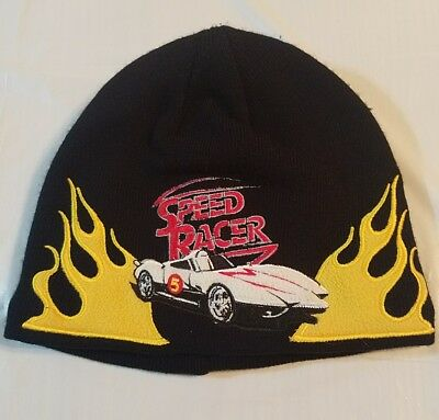 Speed Racer Boys Black Beanie #29