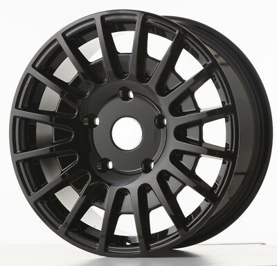 """8""""x18"""" JBW TMS GLOSS BLACK ALLOY WHEEL FITS FORD TRANSIT CUSTOM 1 ONLY"""