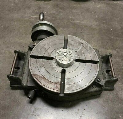 Bridgeport 12 Rotary Table For Vertical Mill Milling Machine