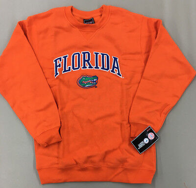 Florida Gators Genuine Stuff Orange Crew Neck Sweatshirt NEW Youth Sizes - Florida Gators Stuff