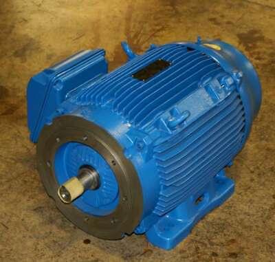 New 11751430 Weg Electric Motor 75hp 3ph 1775 Rpm