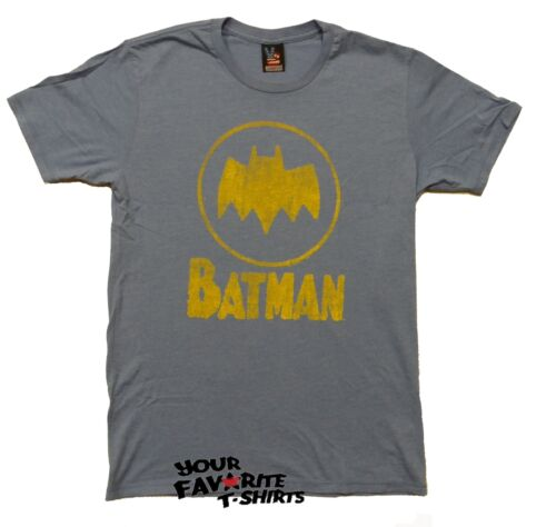 Batman Symbol Junk Food Blue Premium Licensed Adult T Shirt Ebay