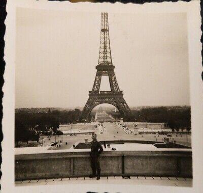 Photo ORIGINALE WW2 WWII : WH dv TOUR EIFFEL _ PARIS OCCUPATION comprar usado  Enviando para Brazil