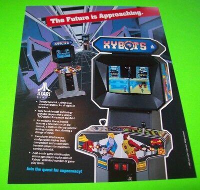 Arcade Gaming 1987 Atari Dunk Shot Video Flyer Mint Collectibles