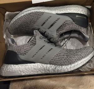 DS Adidas Ultraboost 3.0 Silver Pack Size 9