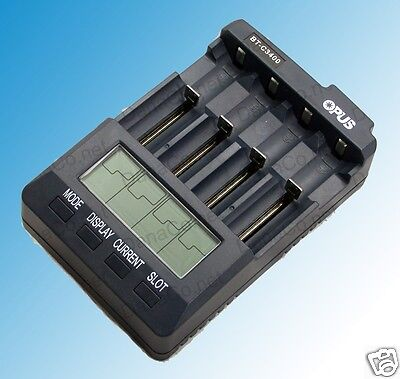 BT-C3400 V3.1 Battery Charger Analyzer Tester Li-ion AA AAA NiMH 18650 Opus 3100