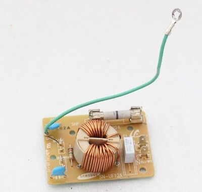 Original SN-UF12A Noise Filter w/ 250V 20A Fuse for/from MC12J8035CT Microwave 12a Noise Filter