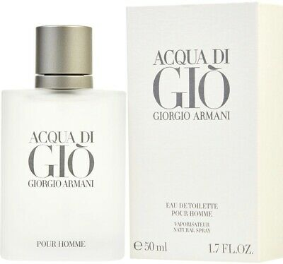 * Acqua Di Gio  By Georgia Armani 1.7 FL Oz New*