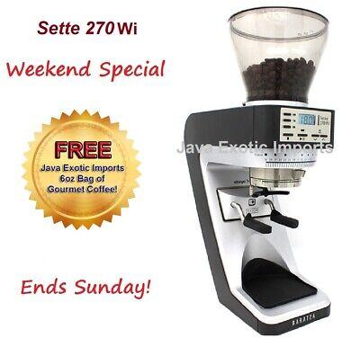 Baratza Sette 270wi Espresso Grinder Free Coffee New Model Authorized Dealer