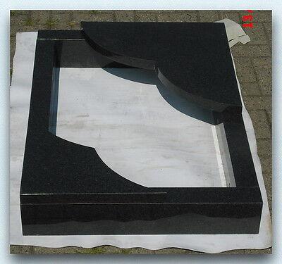 Urnengrabeinfassung 100x100cm, Grabeinfassung, Granit, Neu Impala, NEU!!!
