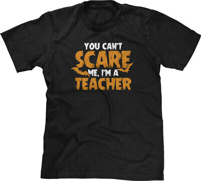Funny Halloween Saying (Scare Me Im A Teacher Halloween Humor Funny Joke Saying Costume Holiday Mens)