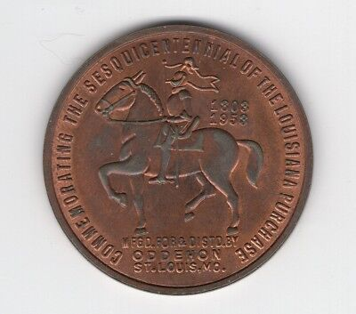HK 509 Sesquicentennial of the Louisiana Purchase 1958 Knight on Horse