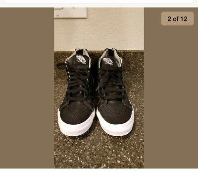Vans Sk8-hi Leather Women's Size 5, Men's Size 3.5
