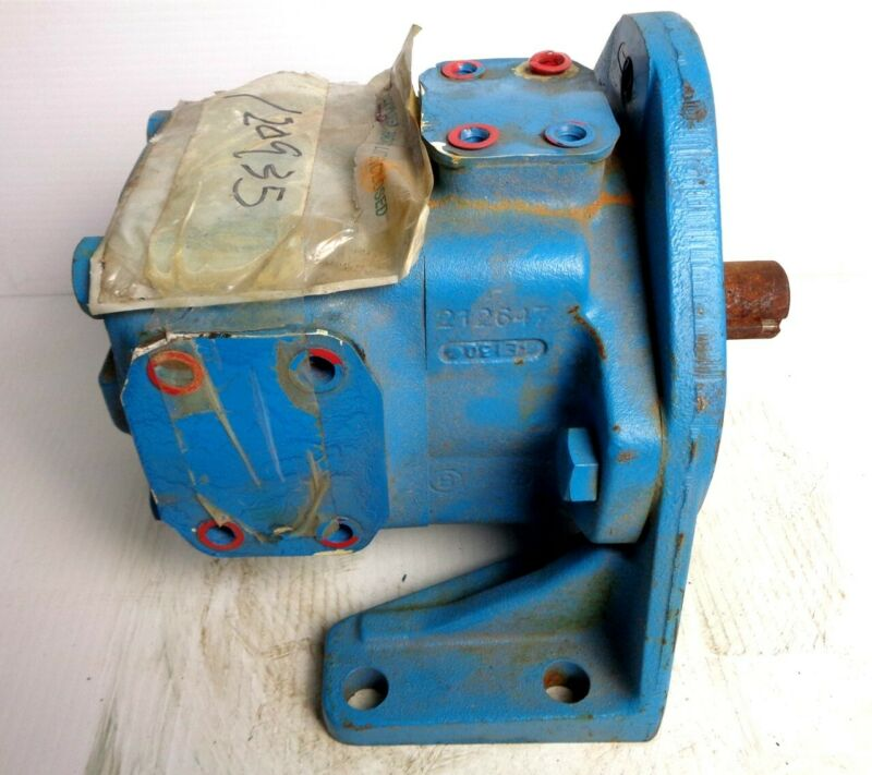 EATON VICKERS - NEW HYDRAULIC VANE PUMP - 35V25AF-1B22R - RIGHT SIDE OUTLET PORT