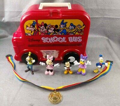 Disney Vintage Lunch Box Figurines & Sports Medal
