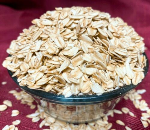 Organic Old Fashioned Rolled Oats Gluten Free Steel Cut & Quick Instant Oatmeal
