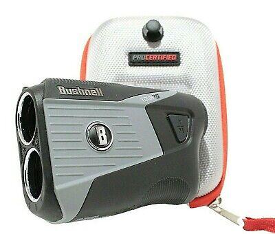 Bushnell Tour V5 Very Good Condition Laser Golf Rangefinder w/ New Case & Bite