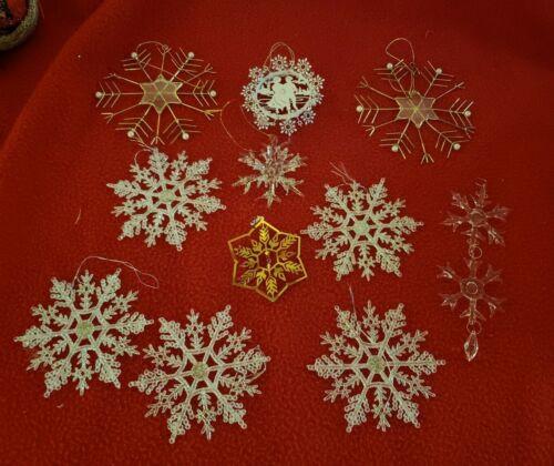 Lot of Snowflake Ornaments
