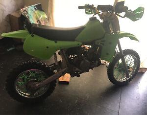 Kawasaki KX60 dirtbike