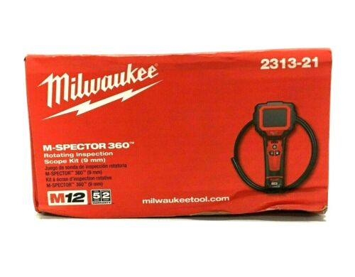 Milwaukee M12 Spector 360 Digital Inspection Camera, Cordless 2313-21
