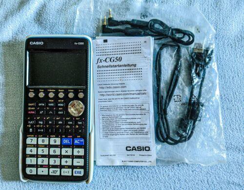 Casio fx CG50 Grafischer Wissenschaftlicher Taschenrechner Wie Neu