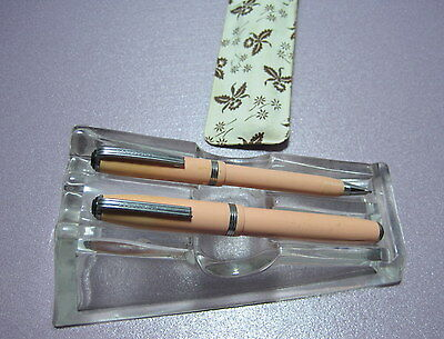 Uncommon Esterbrook Purse Pen Set==Peach!