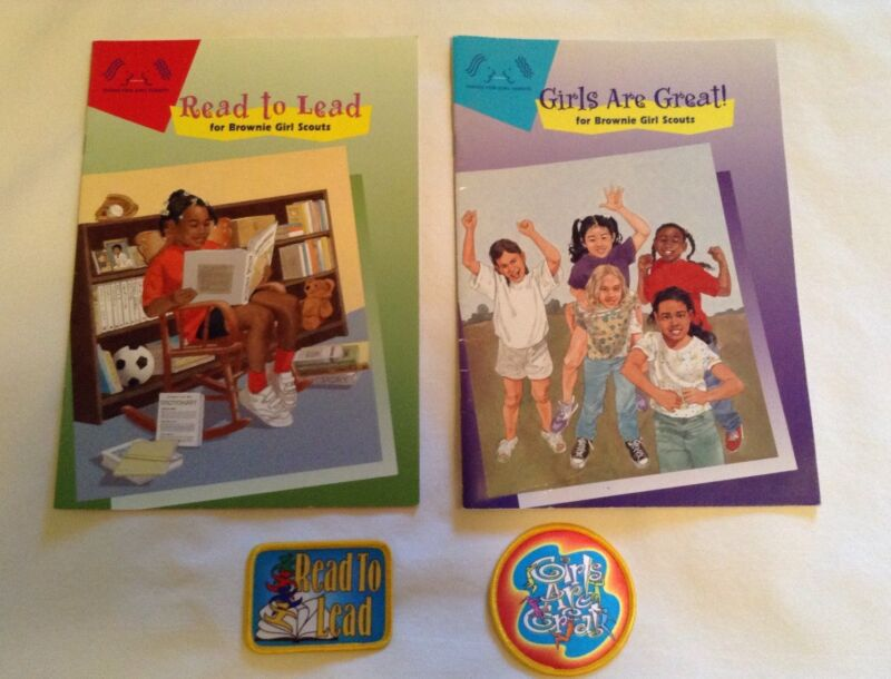 Girl Scouts Read To Lead & Girls Are Great & Patches
