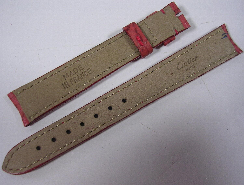 Bracelet cuir cartier pour montre 14,5 mm stock ancien