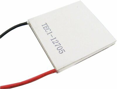Tec1-12705 Heat Sink Thermoelectric Cooler Cooling Peltier Plate Module 40 X 40m