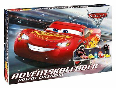 Advent Calendar Disney Pixar Cars 3 2017 From Craze 57361